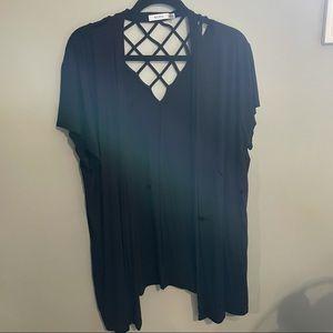 Rickis short sleeve open cardigan xxl